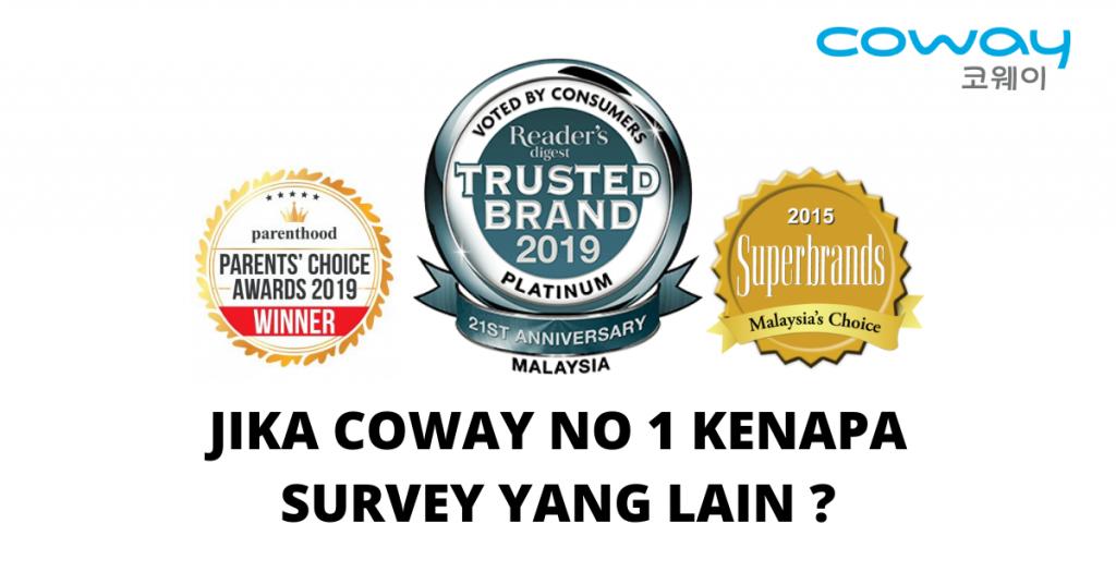Penapis Air Coway No 1 Di Malaysia